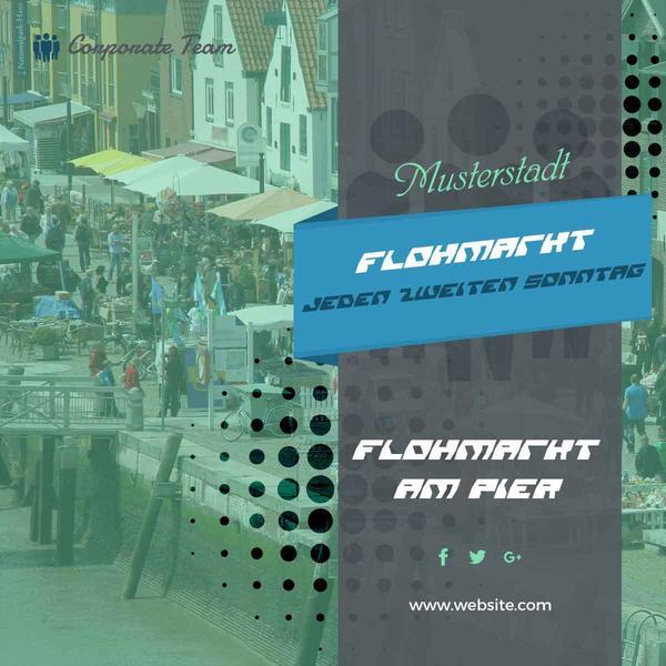 Banner Flohmarkt