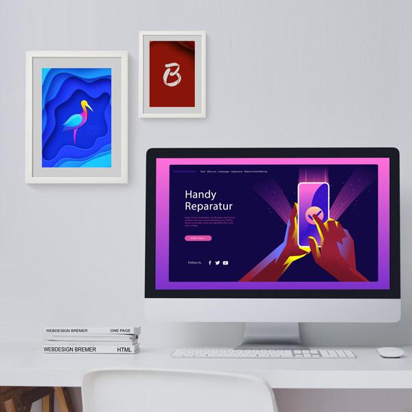 Bremer Ahlen - Webdesign